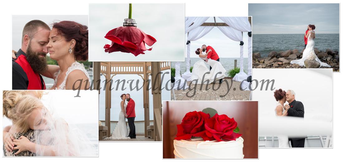 Krista wedding collage